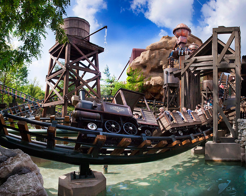 Phantasialand - Attractionphotography Colorado Adventure